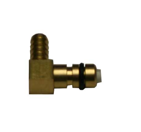 FLOJET BRASS ELBOW -1/4""