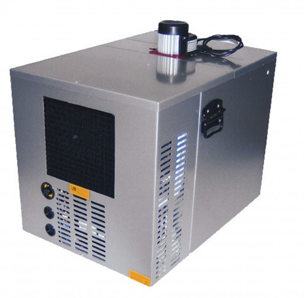 Silver 34 Ice Bank Chiller